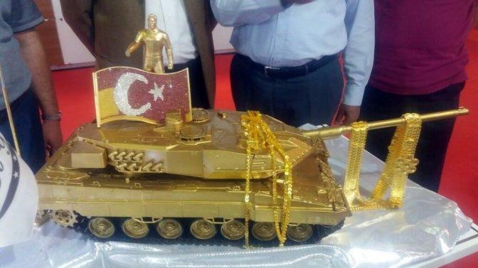 15 Temmuz Altın Tankı Görücüye Çıktı!