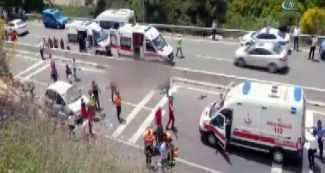 Muğla'da korkunç kaza! 23 ölü, 11 yaralı!