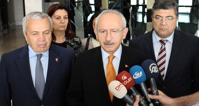 """Kılıçdaroğlu: """"Baş sağlığı diliyorum"""""""