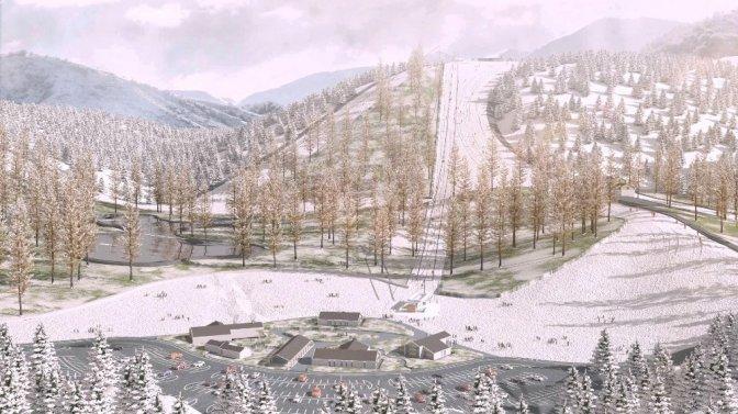 Kayak Merkezi İçin İlk Kazma Vuruldu