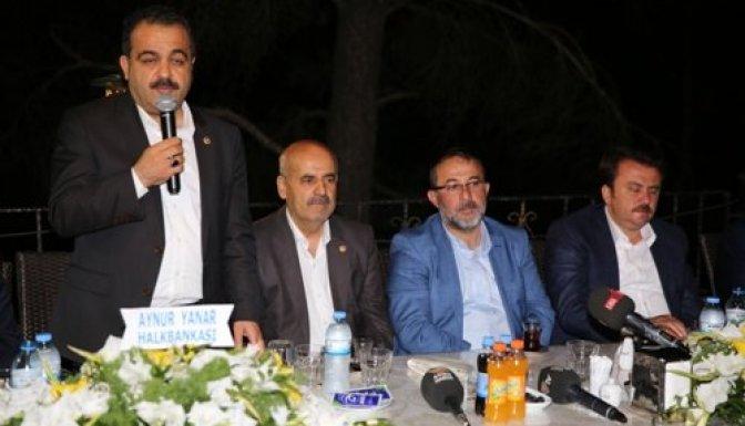 Kahraman Afşinliler, Afşin Belediyesinin İftarında Buluştu