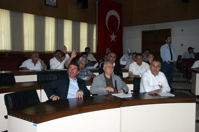 Büyükşehir Meclisi Tanrıverdi başkanlığında toplandı