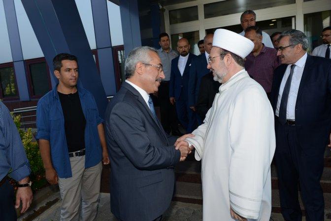 Diyanet İşleri Başkanı Görmez, KSÜ'yü ziyaret etti