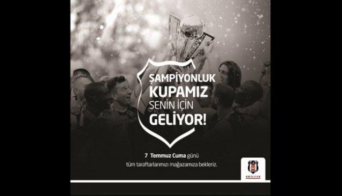 Beşiktaş'ın Kupası Kahramanmaraş'ta