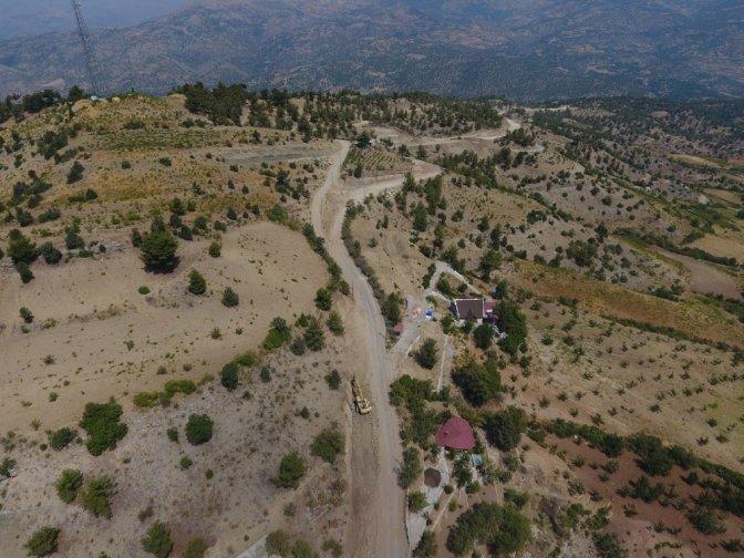 Dulkadiroğlu Belediyesi'Nden Bertiz'E Yüksek Standarlı Yol