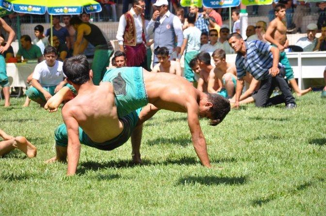 Afşin Eshab-I Kehf Karakucak Güreş Festivali Başladı