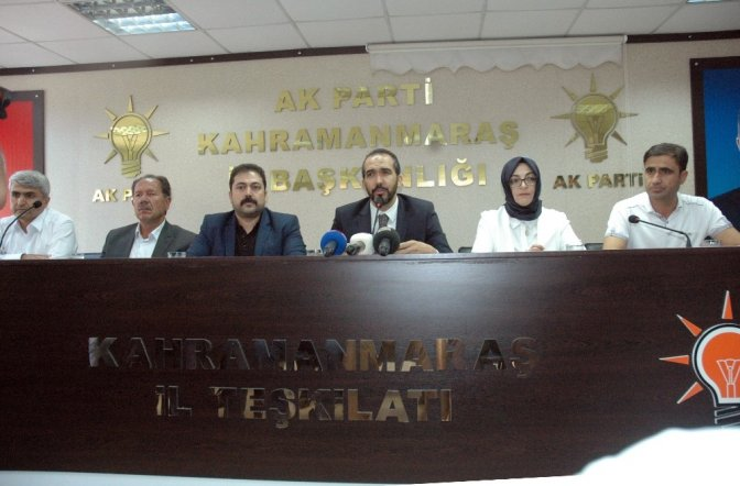 Kahramanmaraş Ak Parti'de 5 ilçede deprem!