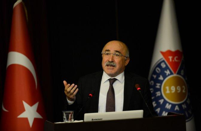 Türk Ocakları Genel Başkanı KSÜ'de konferans verdi
