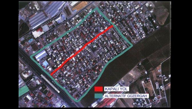 DİKKAT! Aslanbey Caddesi çift taraflı trafiğe kapalı