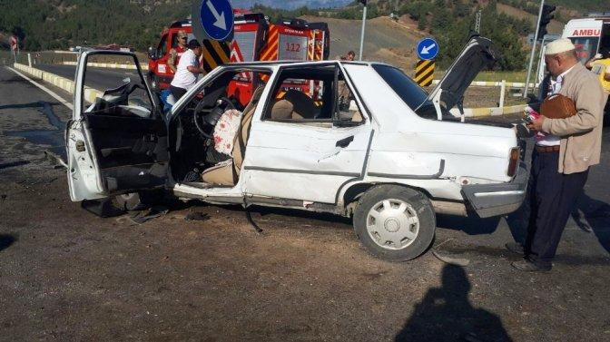Kahramanmaraş'ta Trafik Kazası: 1'i ağır 9 yaralı!