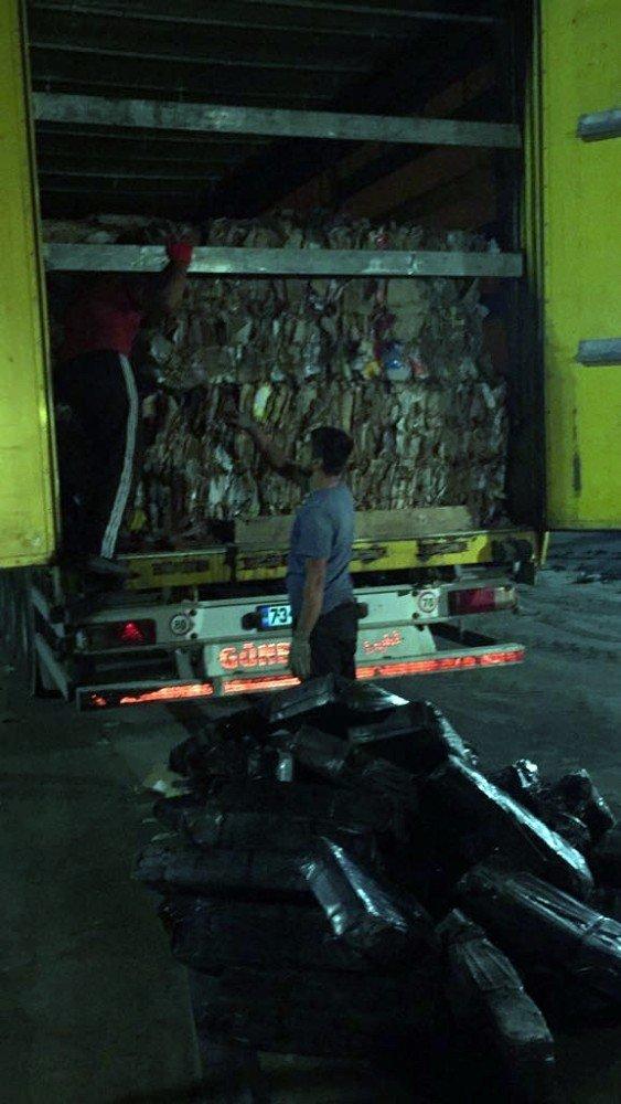 Kahramanmaraş'ta Sigara Kaçakçılara Ağır Darbe