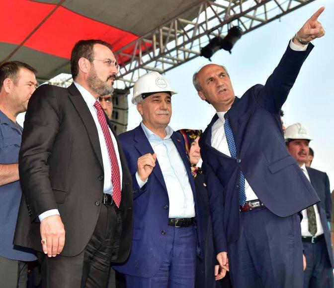 Başkan Okay, törene katılanlara teşekkür etti