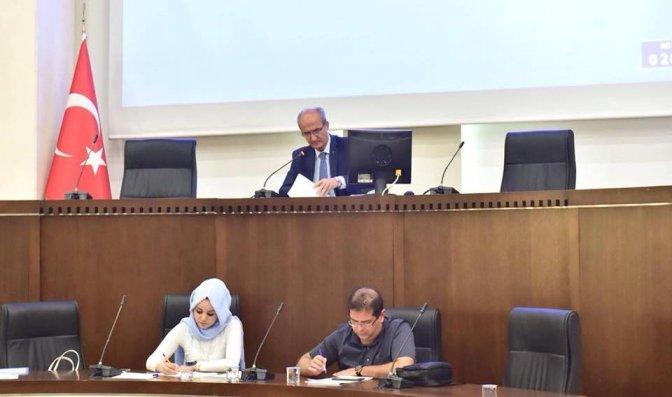 Dulkadiroğlu meclisi Ekim toplantısını yaptı