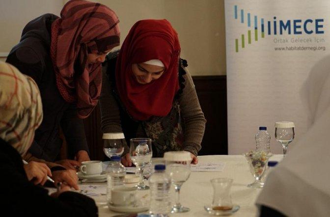 """Kahramanmaraş'ta Suriyelilere """"İş Fikri"""" Eğitimi"""
