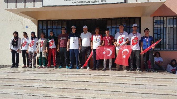 Kahramanmaraş'ta 15 Temmuz Şehitleri Anma Koşusu
