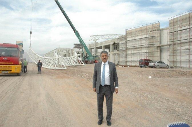 Kahramanmaraş'ta Yeni Havaalanı İnşaatı Hızla Yükseliyor