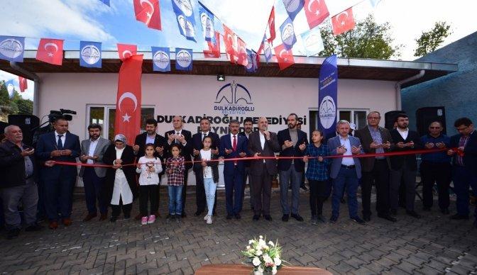 Dulkadiroğlu Belediyesi'nden çok amaçlı sosyal tesis