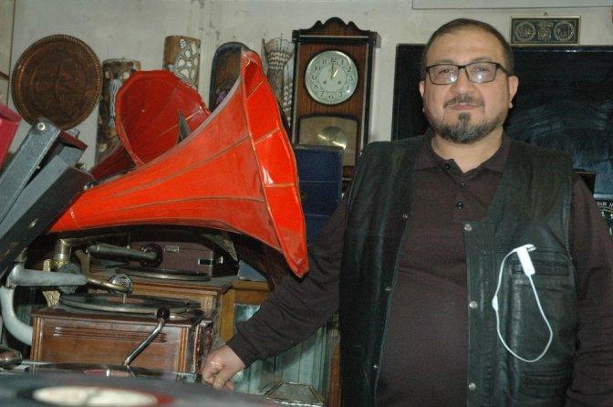 110 Yıllık Gramofon ile geçmişe yolculuk