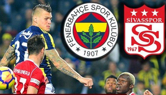 Fenerbahçe 4-1 Sivasspor Fenerbahçe-Sivasspor kaç kaç bitti?