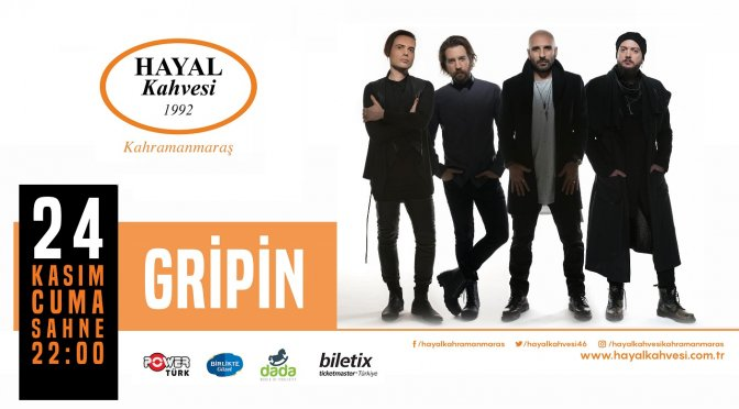 Rock tutkunları Gripin konserinde buluşacak