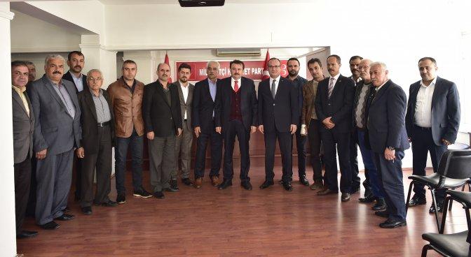 Başkan Erkoç, MHP'yi ziyaret etti