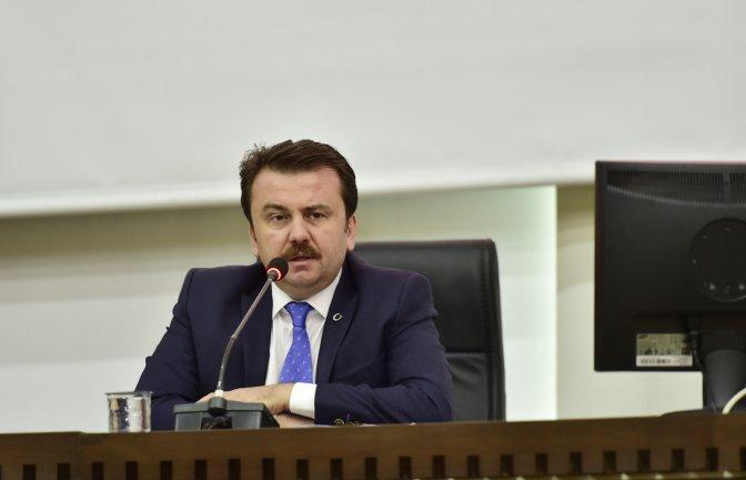 Meclis 4. Birleşimi Erkoç başkanlığında gerçekleşti