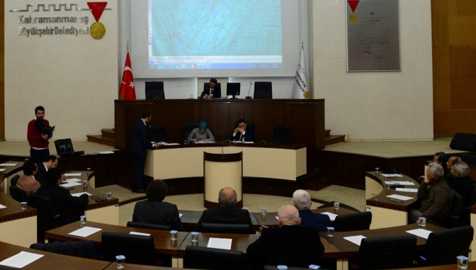 Dulkadiroğlu Meclisi Kahveci'nin başkanlığında toplandı