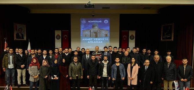 """KSÜ'de """"21. Yüzyılda Ahmet Yesevi'yi Anlamak"""" konferansı"""