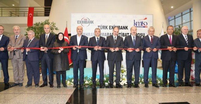 Kmtso'da Türk Eximbank irtibat bürosu açıldı