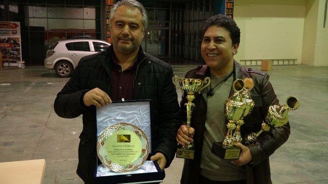Kahramanmaraş'ta kanaryalar yarıştı