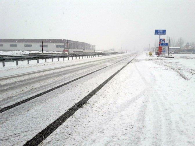 Kahramanmaraş'ın kuzey ilçelerinde kar sevinci