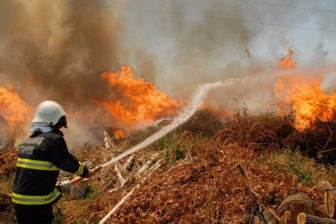 Kahramanmaraş'ta itfaiye 1 Yılda 6 Bin 877 Olaya müdahale etti