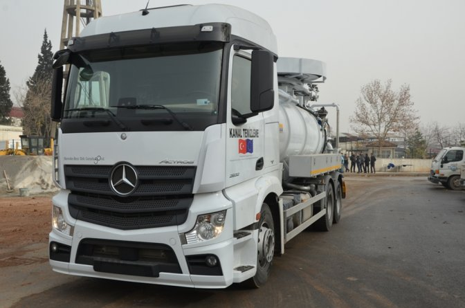 AB, KASKİ'ye 2,6 milyonluk araç-gereç hibe etti