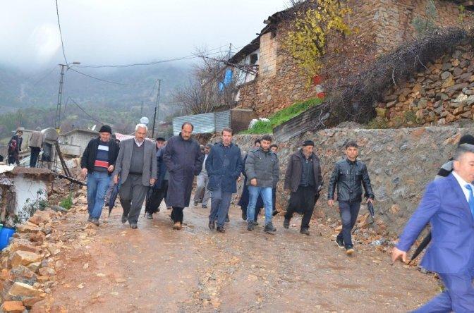 Türkoğlu Belediyesi afetzedelerin yardımına yetişti