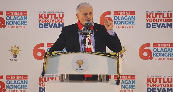 Yıldırım: 'Kahraman Mehmetçik orada destan yazıyor'