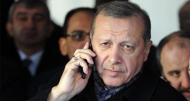 Cumhurbaşkanı Erdoğan, Fransa Cumhurbaşkanı ile telefonda görüştü