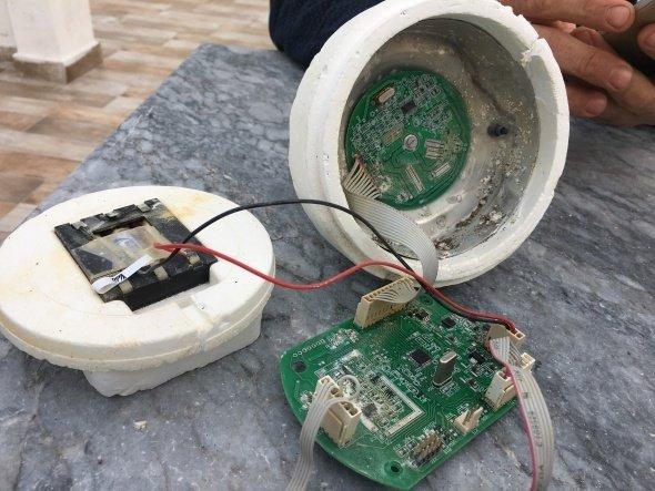 Denizden esrarengiz cihaz çıktı