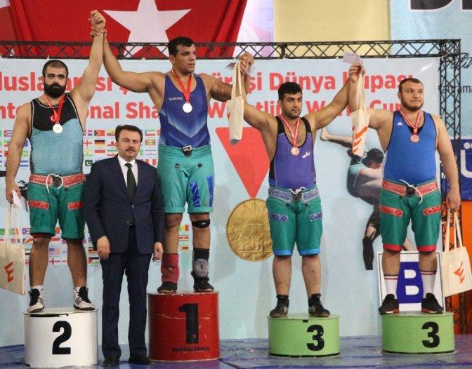 Kahramanmaraş'ta uluslararası şalvar güreşi dünya kupası