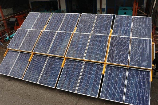 Kahramanmaraşlı girişimci mobil enerji santrali üretti!