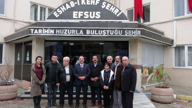 Afşin'den Afrin'e klipli destek
