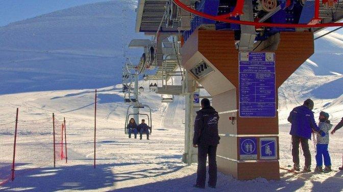 Kayak Merkezi 2 ayda yaklaşık 600 bin kişiyi ağırladı!