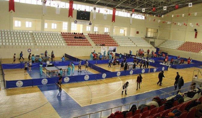 Masa Tenisi Çeyrek Final Maçları İlimizde Gerçekleştirildi