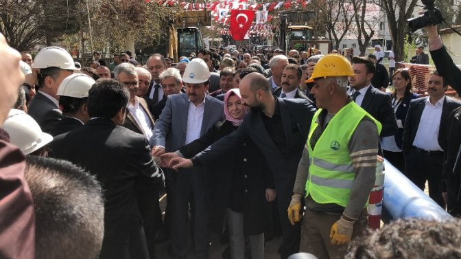 Pazarcık'a 32 Milyon liralık içme suyu yatırımı
