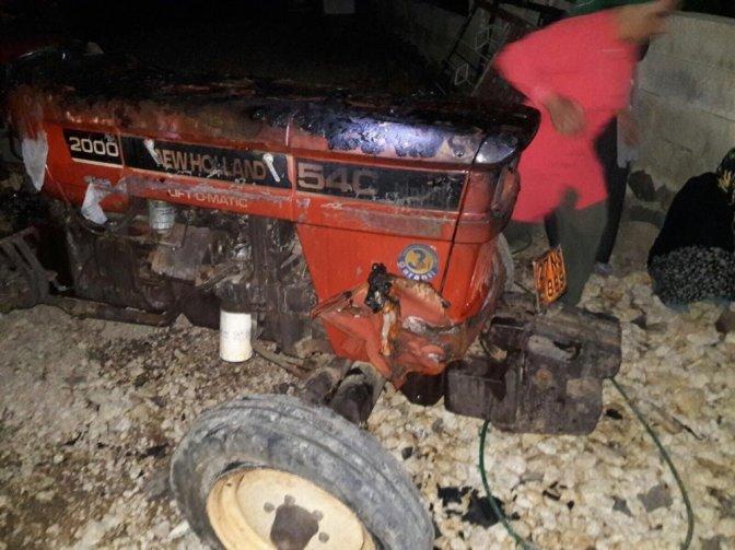 Kahramanmaraş'ta yanan iki araç kullanılamaz hale geldi