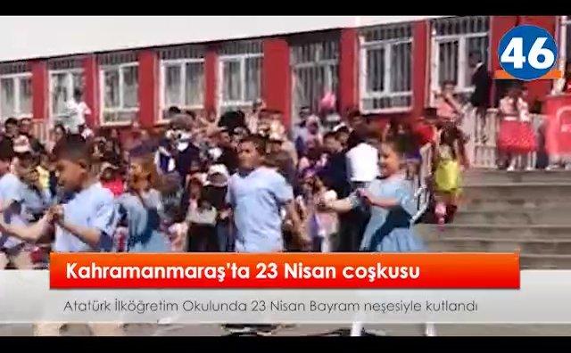 Atatürk İlköğretim'de 23 Nisan Bayram neşesi