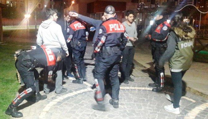 Kahramanmaraş'ta huzur operasyonu: 8 Gözaltı