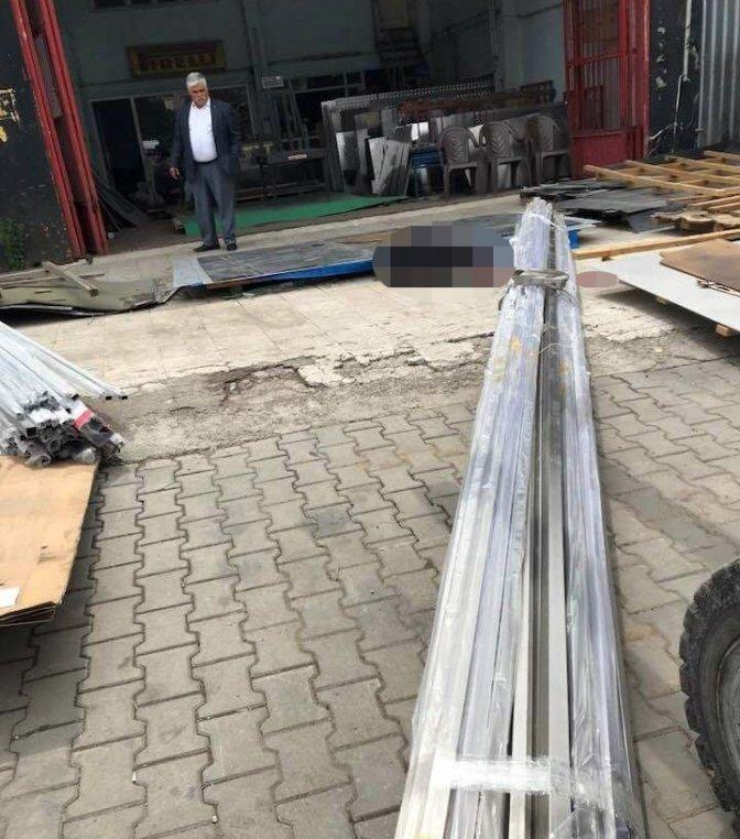 Kahramanmaraş'ta iş kazası: 1 Ölü