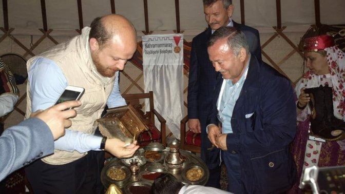 Etnospor kültür festivali'nde Kahramanmaraş çadırına yoğun ilgi