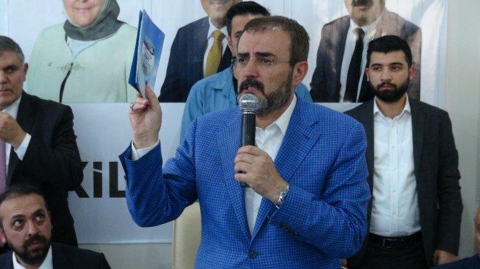"""Ünal, """"Sen, Tayyip Erdoğan'ın sıkletinde bir güreşçi değilsin"""""""