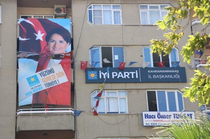 İYİ Parti Kahramanmaraş'ta Milletvekilliğini CHP'ye kaptırdı